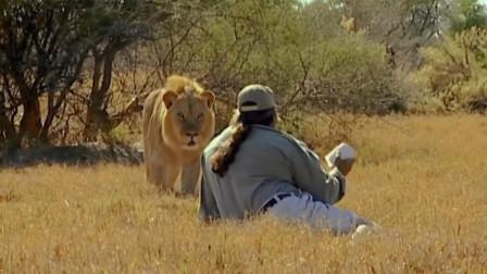 纪录片:用卫生纸与雄狮对峙3分钟,就能获得一份年薪百万的工作