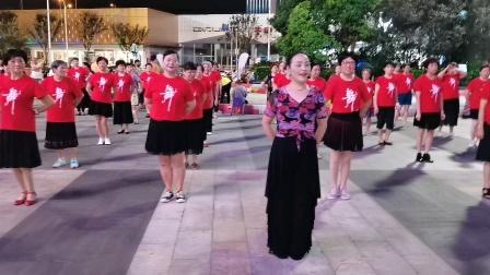 〈60)广场舞《牧人恋歌》万达广场。徐淡吟老師🌹🌴💄💐