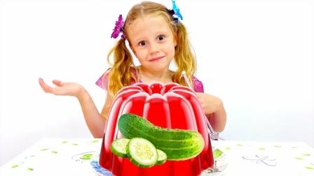 小萝莉用魔法棒把食物变成糖果,怎么办呀