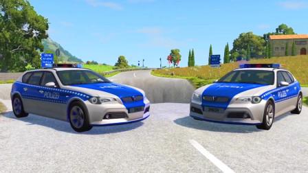 车祸模拟器:马路上出现了一个大水坑好多车都掉进去了