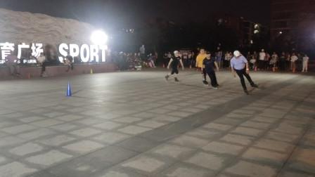 20210901天津市侯台体育广场动感轮滑欣赏(36)