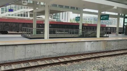 【2021.08.27】和谐电3牵引货列通过潍坊站