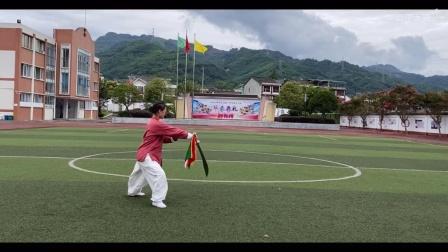 梅子习练传统杨氏13刀(音乐版)