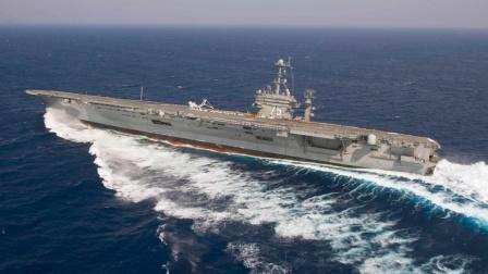 美军第一艘核动力航母,建成速度简直惊人,一般人根本猜不到