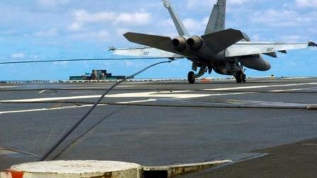 时速240公里的战机,钩挂航母上5厘米粗的拦阻索,心惊肉跳