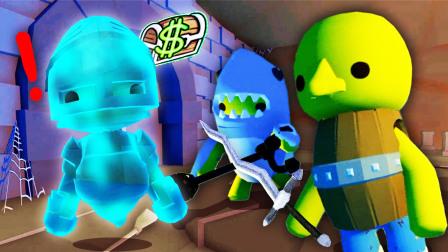 欢乐人生 我和桃子精用宝藏探测器找到神秘洞穴后帮着幽灵找圣剑
