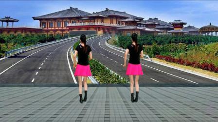 老歌新跳广场舞《开心过好每一天》32步零基础入门,背面完整版