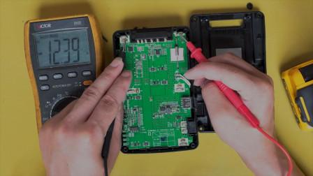 摄像机V口电池维修 不能用也不充电无任何反应解决办法教程