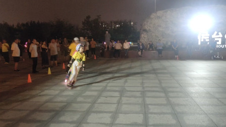 20210904天津市侯台体育广场动感轮滑欣赏(38)