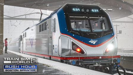 TSW2 波士顿快铁 #8:倒车折返...调度你醒醒啊!  模拟火车世界 2