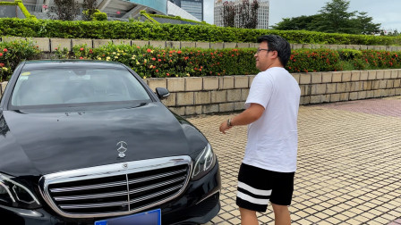 来珠海收台热门车-奔驰E300L,但好像又伤了一位粉丝的心...