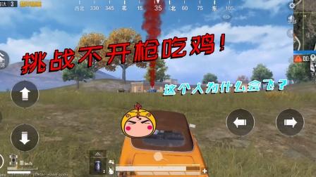 鸡大宝:挑战一枪不开吃鸡,我的飞车自己都怕!