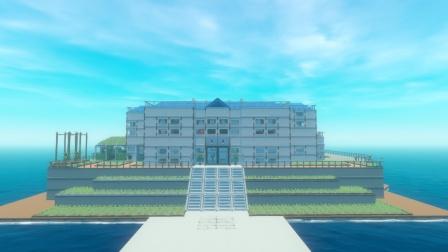 木筏求生:第237天 建造医院的大门,小伙伴们感觉如何