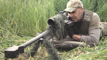 顶尖狙击手,弹无虚发枪枪爆头,一个不留