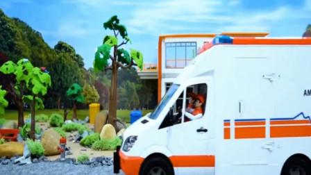 消防车赶去救人,半路出点意外?