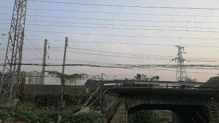 SS80200-K511次上海南-海口接近新余市新欣南大道经典小绿皮25G广铁海段