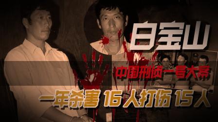 中国刑侦一号案白宝山,为报复警察开始犯罪,被误认是特种兵出身