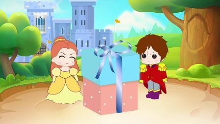 白雪做了月饼送给王子,贝儿说月饼是她做的,贝儿是不是在撒谎?