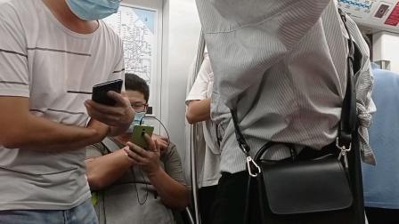 上海地铁8号线泥鳅三世人民广场→大世界(终点站沈杜公路)