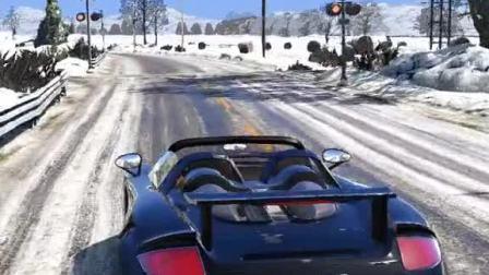 趣味小游戏:豪车接送,开车豪车行驶在雪地上是一种什么感觉