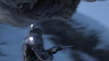 趣味小游戏:雪地大冒险,钢铁侠雪地骑着大雕