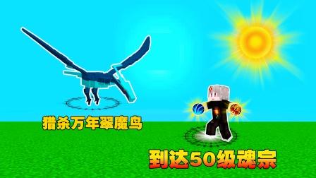 斗罗大陆双生武魂3.猎杀沙万年翠魔鸟,吸收万年魂环,到达50