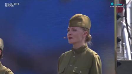俄罗斯要不要战争?Хотят ли Русские войны 女声四重唱 纪念卫国战争爆发80周年音乐会 2021年
