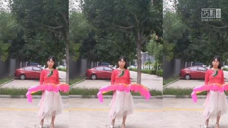 馨香广场,扇子舞,祝福神州