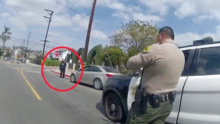 男子发疯,母亲找来美国警察,结果成了这个样子!