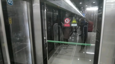 北京地铁16号线SFM40进国家图书馆站
