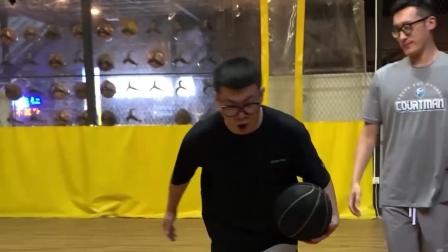 """我马某人日夜攻读""""篮球规则"""",对脚步的领会他人岂能理解?"""