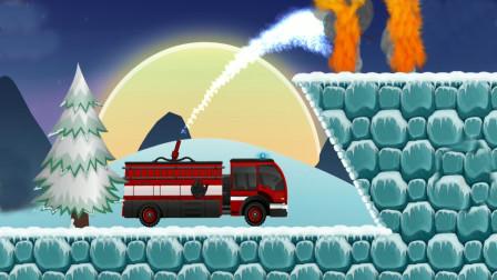 全能老司机模拟游戏,驾驶消防车去灭火