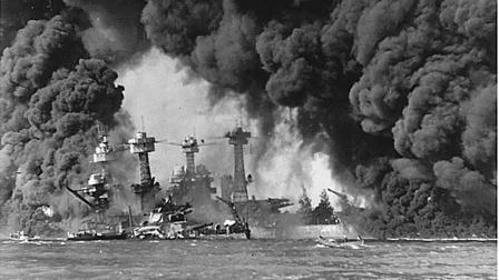 """珍珠港事件,迫使美国加入第二次世界大战,德国大呼""""猪队友""""!"""