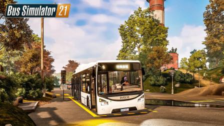 巴士模拟21 天使海岸 #7:我卖掉了政府送我的铰链巴士 | Bus Simulator 21