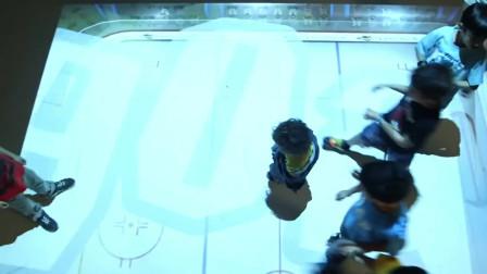 interactive floor互动地屏小游戏