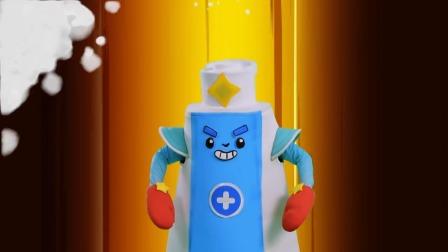 迷你特工队护牙小课堂07:怎样选择儿童牙膏