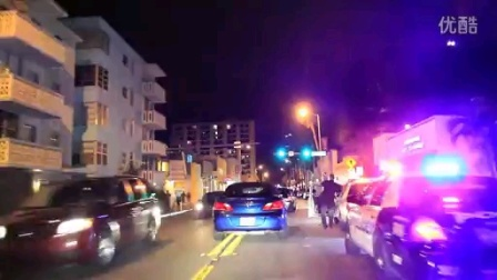 汽车夜景街拍