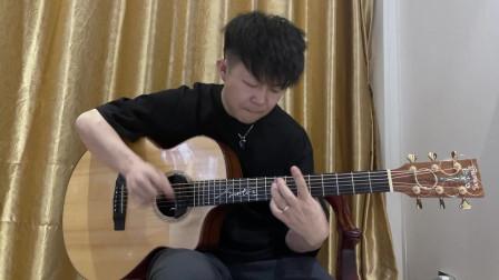 吉他 实力太强了《Ready Go》李金阳 2021卡马杯