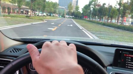 新手开车容易跑偏?记住老司机的方法,简单易用