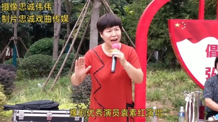 豫剧优秀演员袁素红演唱《数九寒天》现场视频