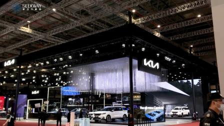 大型悬吊式灯光装置,上海国际车展show出不一样的魅力