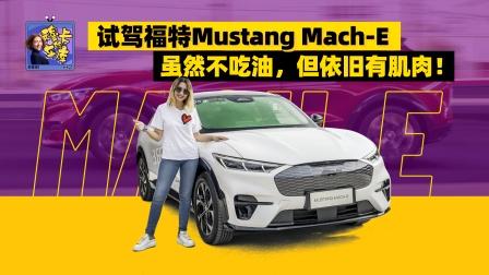 试驾福特Mustang Mach-E,不吃油,但依旧有肌肉!