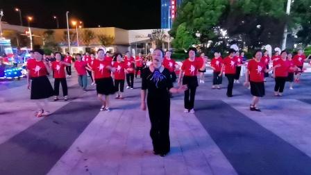 (61)广场舞《后海酒吧》64步,万达广场。徐淡吟老师🌹🌴💄💐