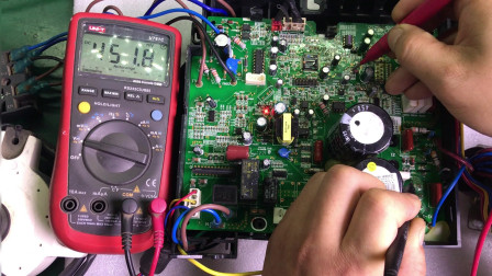 格力H5故障,测试几个关键点电压,快速锁定故障