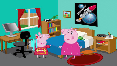 动画剧场:佩奇唱歌挨骂,乔治唱歌却得到表扬,猪妈妈也太偏心了