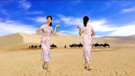 来跳舞中文版,海来阿木演唱《骑上我的小骆驼》正反面演示