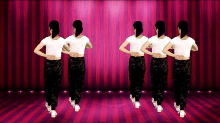 热门广场舞《在外打工健康最重要》64步背面