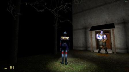 欧布奥特曼来到密室门口,怎么发现了灭霸?