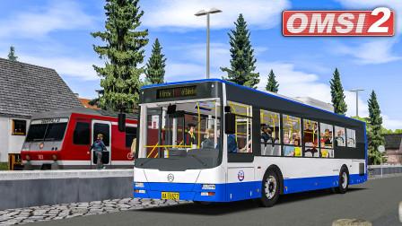 巴士模拟2 XML6125 #2:这喇叭一股不高兴的样子 | OMSI 2 Landkreis Lahnau 452(2/2)