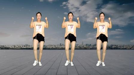 国庆能量热舞《万里长城永不到》时尚64步